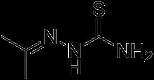 Acetone thiosemicarbazone - Image: Acetone thiosemicarbazone
