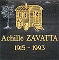Achille Zavatta's commemorative plaque.JPG