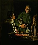 Adam de Coster - Two Sculptors at Night in Rome. Double Portrait of Francois Duquesnoy and Georg Petel.jpg