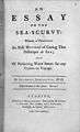 Addington, An essay on the sea-scurvy, 1753 Wellcome L0029542.jpg