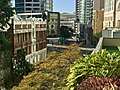 Adelaide Street seen from Hobbs Park at level 4 of 480 Queen Street, Brisbane.jpg