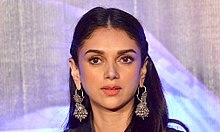 Aditi Rao Hydari at Media meet of 'Wazir' at Mehboob Studio.jpg
