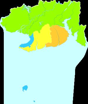 Beihai - Image: Administrative Division Beihai