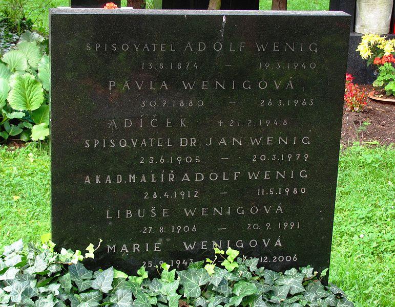 File:Adolf Wenig hrob.jpg