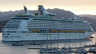 Voyager-class cruise ship - Image: Adventure of the Seas ship (cropped)