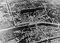 Aerial bombardment of Chateau Thierry, France, August 1918, WWI (28172986943).jpg