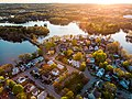 Aerial view of The Island, Waltham, May 2020.jpg