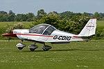 Aerotechink EV-97 Eurostar 'G-CDIG' (40764357575).jpg