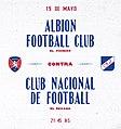 Afiche Albion vs Nacional.jpg