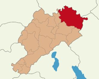 Emirdağ - Location of the Emirdağ district in Afyonkarahisar Province