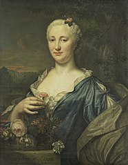 Portrait of Agnes Margaretha Albinus, Wife of Coenraad van Heemskerck