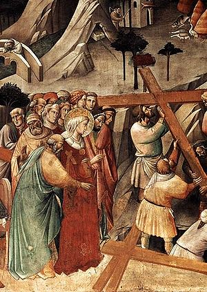 True Cross - The Finding of the True Cross, Agnolo Gaddi, Florence, 1380