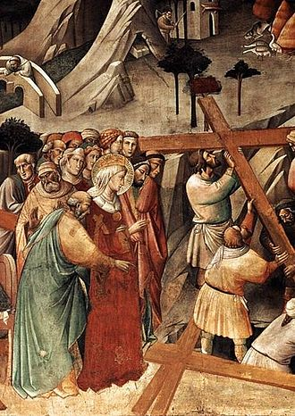 1380s in art - Image: Agnolo Gaddi True Cross Detail 1380