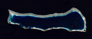 Ailinginae Atoll - NASA Landsat 8 image of Ailinginae Atoll
