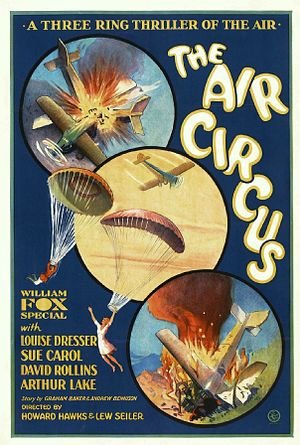 The Air Circus - Film poster