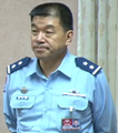Air Force (ROCAF) Lieutenant General Fan Ta-wei 空軍中將范大維 (20161102 09:25:31 8th Full-meeting of the Foreign and National Defense Committee, Legislative Yuan 立法院外交及國防委員會第8次全體委員會議).png