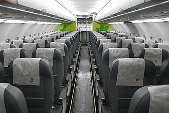 S7 Airlines - S7 Airlines Airbus A320-200 cabin