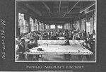 Airplanes - Types - Pomilio Aircraft Factory. Stretching canvas on frames of wings - NARA - 17342466.jpg