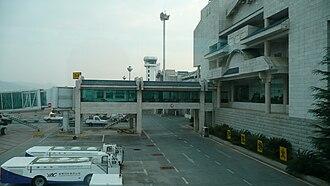 Lijiang Sanyi International Airport - Image: Airport Lijiang 1