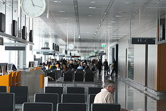Munich Airport - Boarding gate area at Terminal 2