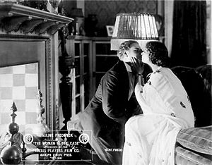 Alan Hale Sr. - Alan Hale with Pauline Frederick in The Woman in the Case (1916)