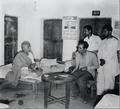 Alauddin Khan Jainul Abedin and Khadem Hossain 1955.png