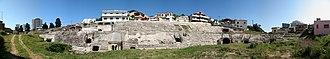 Amphitheatre of Durrës - Image: Albania Durres Panorama 004