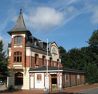 Albersdorf Place in Schleswig-Holstein, Germany