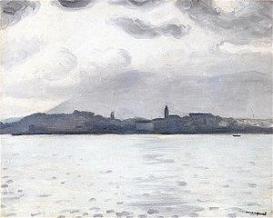 Hondarribia, grey weather