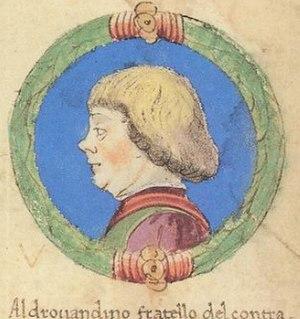 Aldobrandino II d'Este, Marquis of Ferrara - Aldobrandino II d'Este
