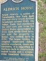 Aldrich House Marker.JPG