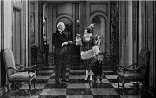 Man and Maid, una delle scenografie di Cedric Gibbons