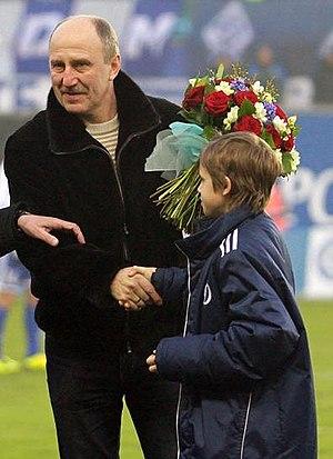 Aleksandr Novikov (footballer, born 1955) - Image: Aleksandr Novikov 2012