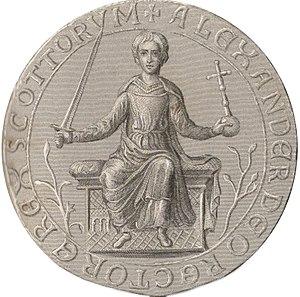 Alexander II of Scotland - Image: Alexander II (Alba) i