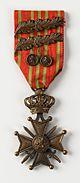 Alfons De Ceulaerde met 8 jaar legerdienst., item 22