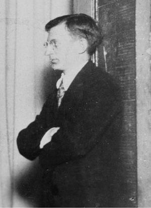 Alfred Kreymborg - Alfred Kreymborg, circa 1917.