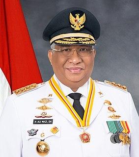 Ali Mazi Indonesian politician