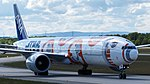 All Nippon Airways (Star Wars - BB-8 livery) Boeing 777-300ER (JA789A) at Frankfurt Airport (3).jpg