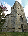 All Saints Church, Middle Claydon, Bucks, England - tower from NW.jpg