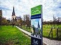 Altkötzschenbroda Friedenskirche zu Radebeul Signpost 2013.jpg