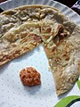 Alu paratha with Spicy Chutney - Home Made - Howrah - West Bengal - 028.jpg