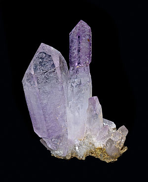 Lavender (color) - Amethyst gem stone