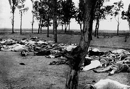 About 1.5 million Armenians were killed during the Armenian Genocide in 1915-1918. Morgenthau336.jpg