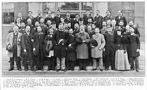 American Ornithological Society - Participants of the 13th Congress of the AOU