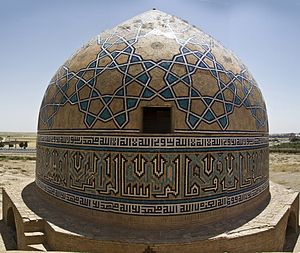Markazi Province - Image: Amingholamali Saveh Jamee Mos. Dome Iran