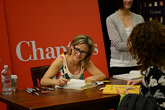 Amy Sedaris - Sedaris at a book signing for her 2010 book Simple Times: Crafts for Poor People