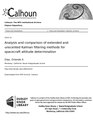 Analysis and comparison of extended and unscented Kalman filtering methods for spacecraft attitude determination (IA analysisndcompar109455010).pdf