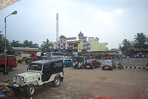 Anchal - A Bus Stand in Anchal