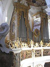 El órgano barroco programa con el nuevo órgano consagrado