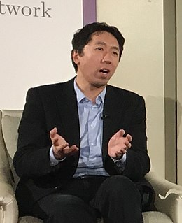 Andrew Ng American artificial intelligence researcher